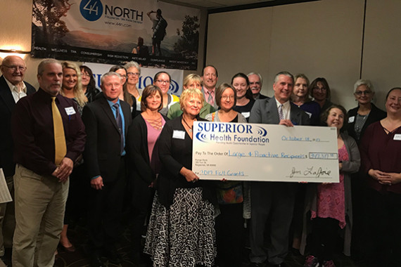 Superior Health Foundation Awards Nearly $375,000 in Grants